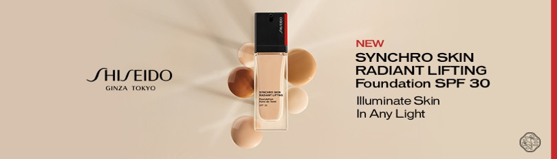 Shiseido - Synchro Skin Radient Lifting Foundation SPF 30